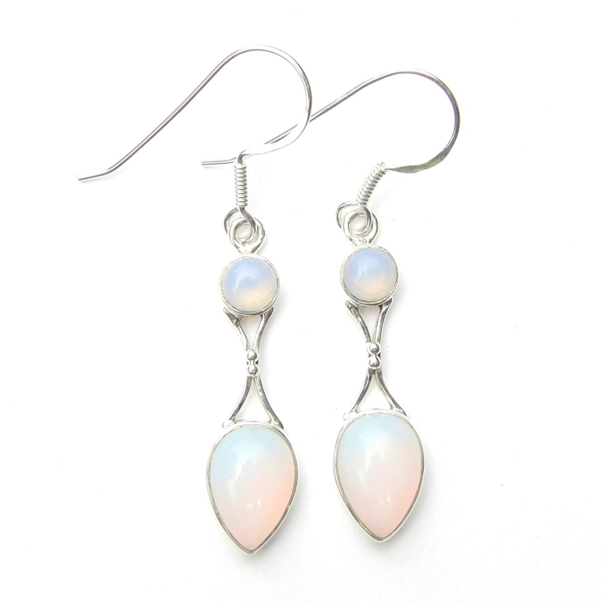 Opalite Goddess Earring.