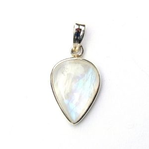 Rainbow moonstone pendants archives silver jewellery cavern wholesale dainty moonstone inverted teardrop pendant aloadofball Gallery