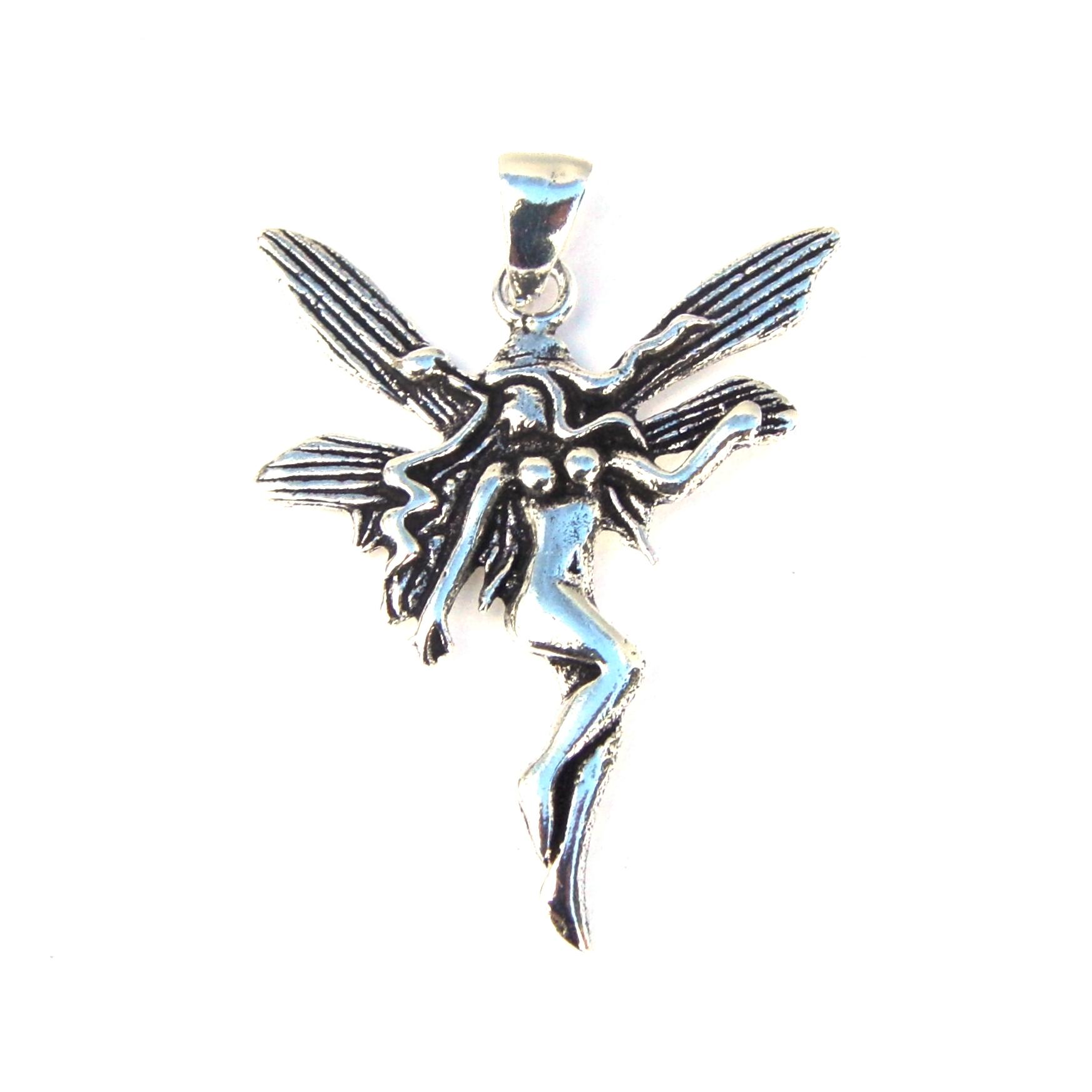 Lightweight large fairy pendant silver jewellery cavern wholesale lightweight large fairy pendant aloadofball Images