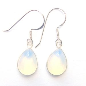Opalite Large Teardrop Earrings