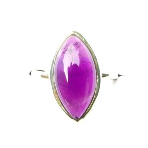 Amethyst Marquise Ring.