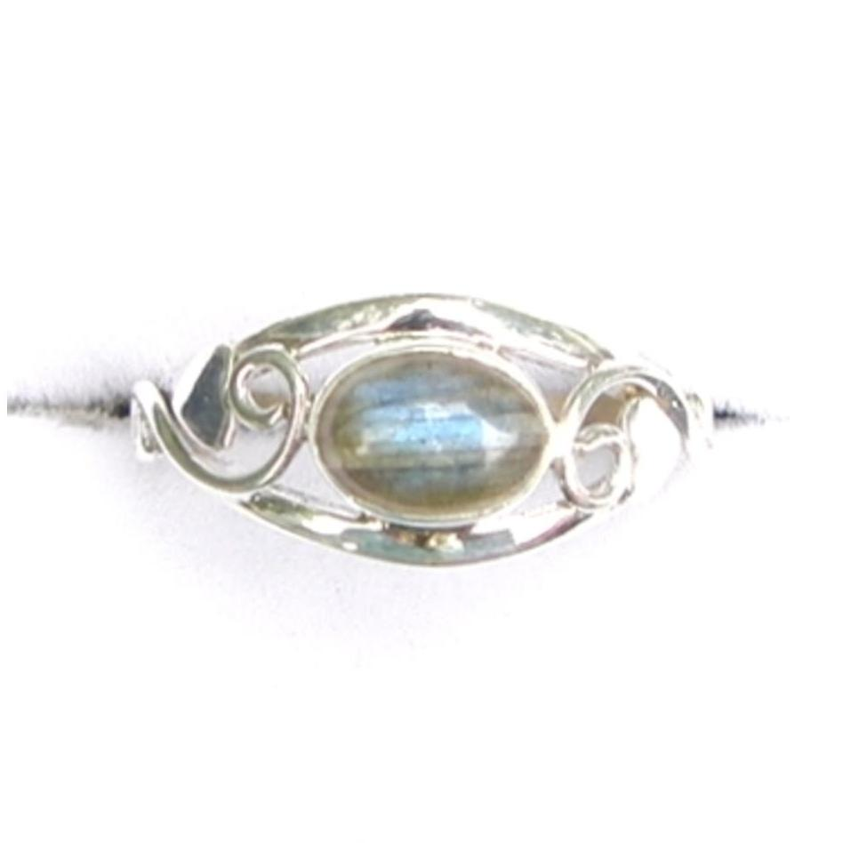 Labradorite Celtic Ring