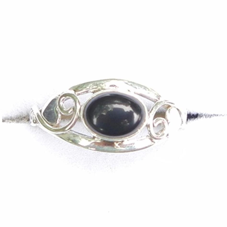 Black Onyx Celtic Ring.