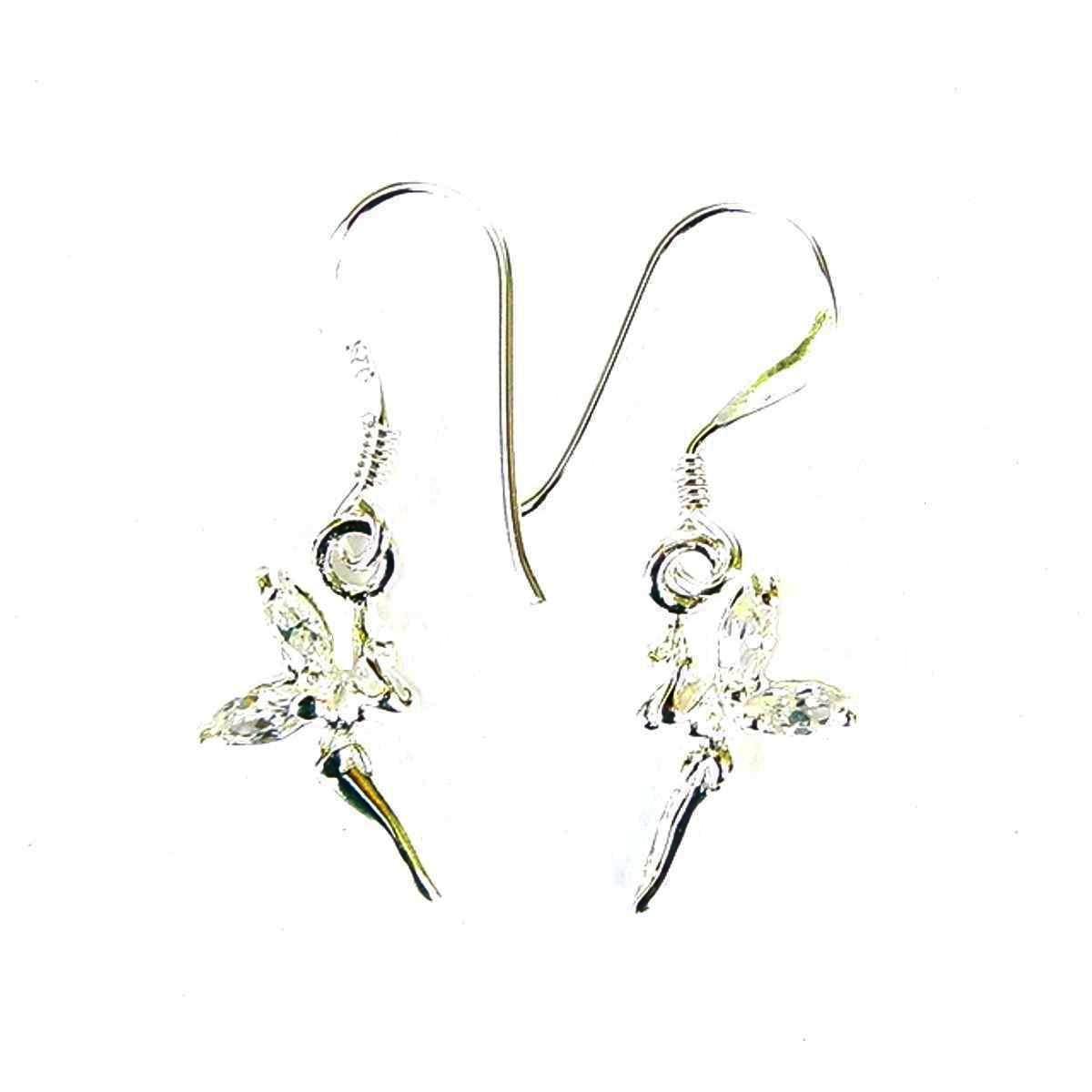 Pretty Crystal Fairy Earrings