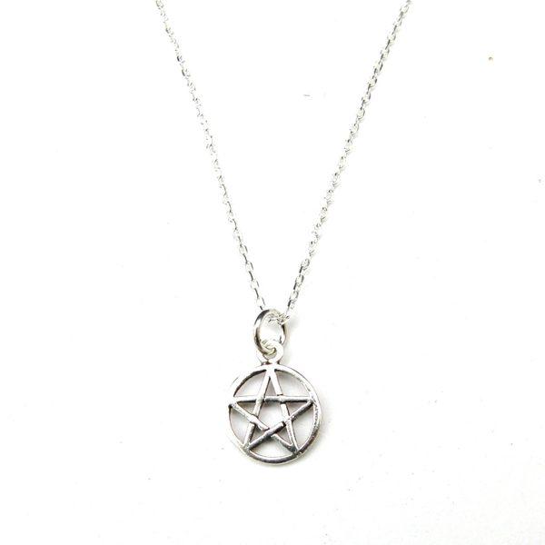 Dainty Pentagram Necklace
