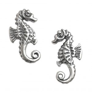 Dainty Seahorse Studs.