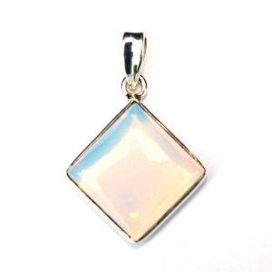 Opalite Diamond Pendant.