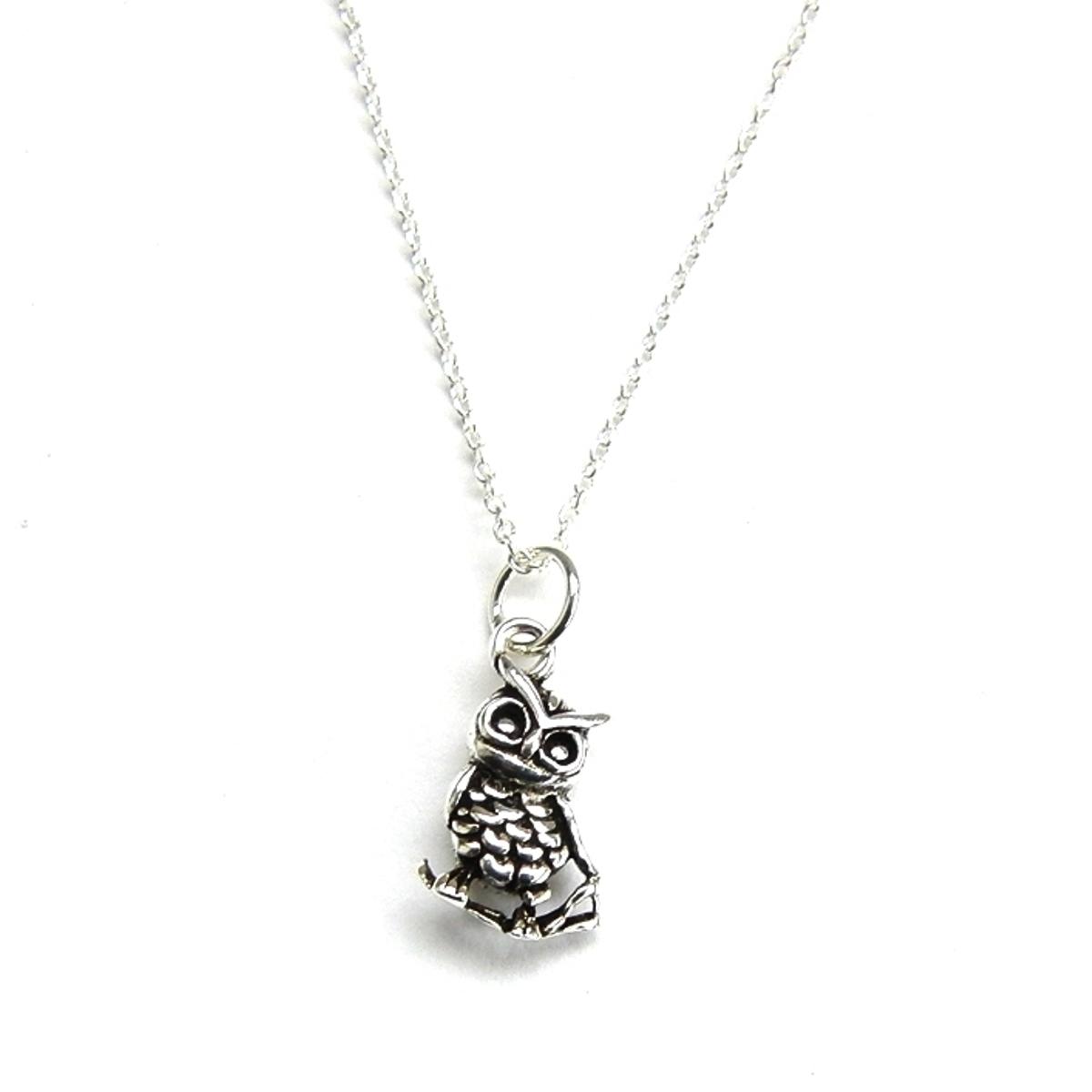 Cute Owl Necklace.