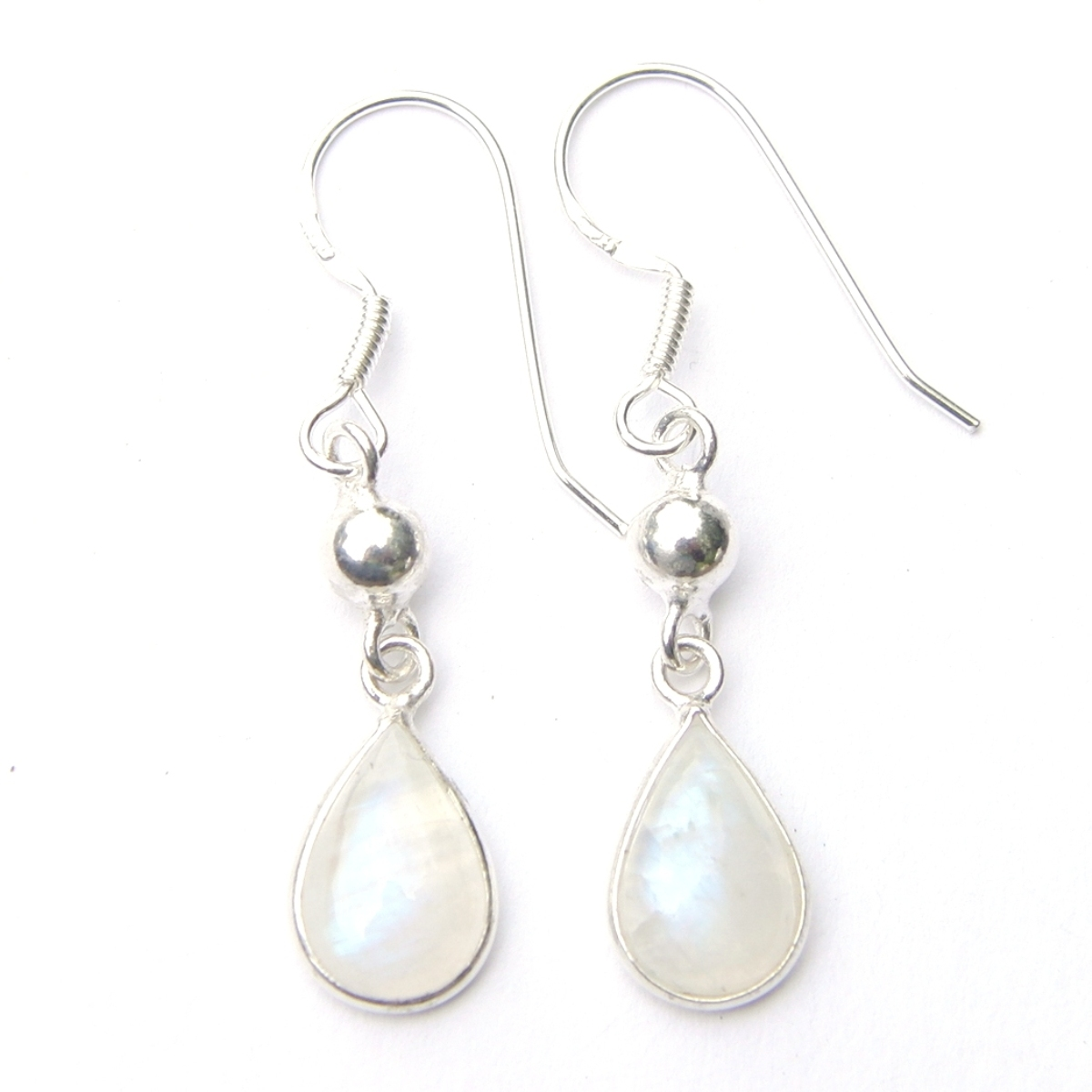 Moonstone Dangling Earrings