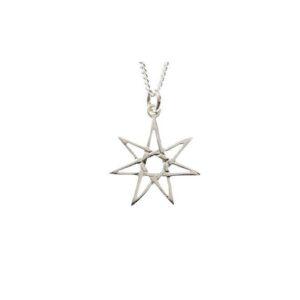 Starburst Star Pendant