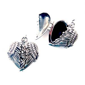Beautiful Angel Wing Locket.