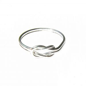 Silver Infinity Knot Ring
