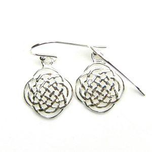 Celtic Silver Earrings.
