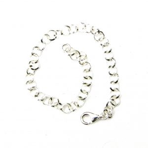 Lovely Silver Charm Bracelet