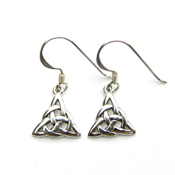 Small Triquetra Earrings 1