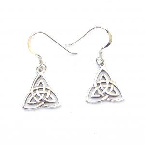 Goddess Triple Triquetra Earrings