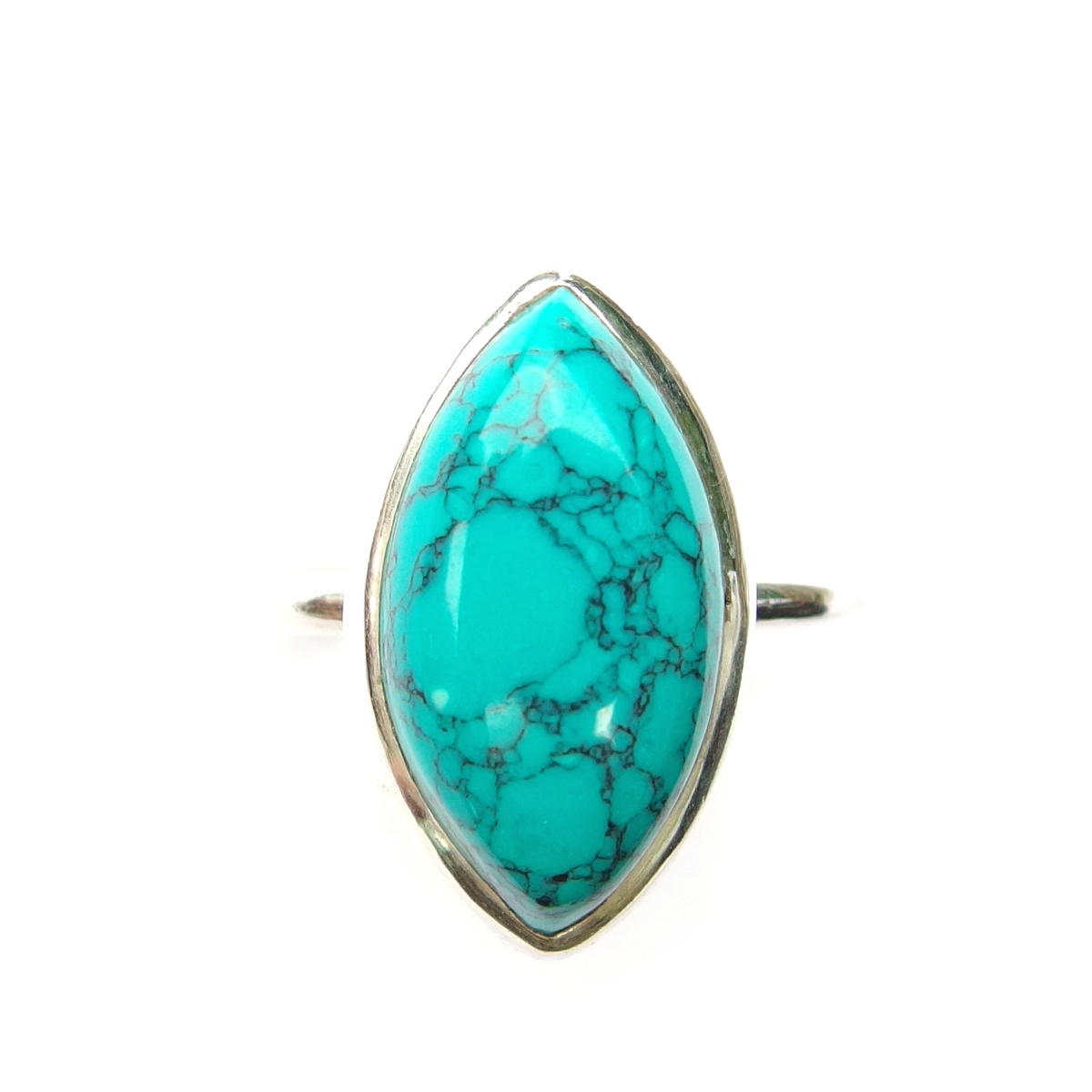 Turquoise Marquise Ring.