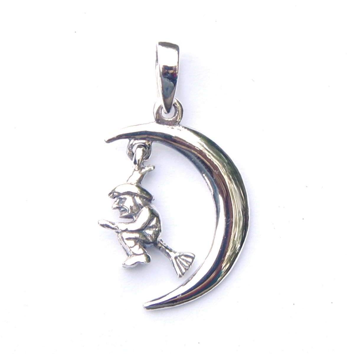 Dainty witch pendant silver jewellery cavern wholesale dainty witch pendant aloadofball Image collections