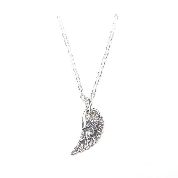 Angel Wing Charm Necklace