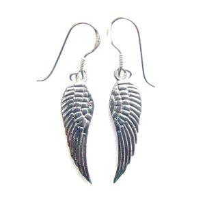 Large Angel Wing Earrings