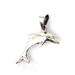 Lovely 3d Dolphin Pendant.