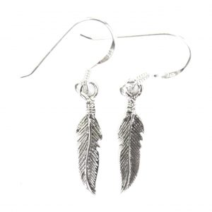 Pretty Feather earrings.