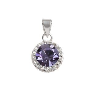 Lovely Tanzanite Crystal Pendant