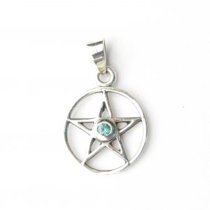 Lovely Crystal Pentacle Pendant