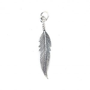 Lovely Large Feather Pendant.