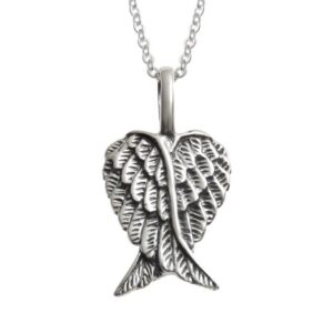 Dainty Angel Wings Pendant
