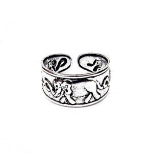 Lovely Elephant Toe Ring