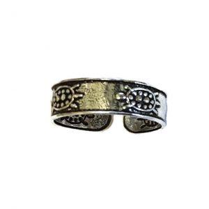 Pretty Turtles Toe Ring.