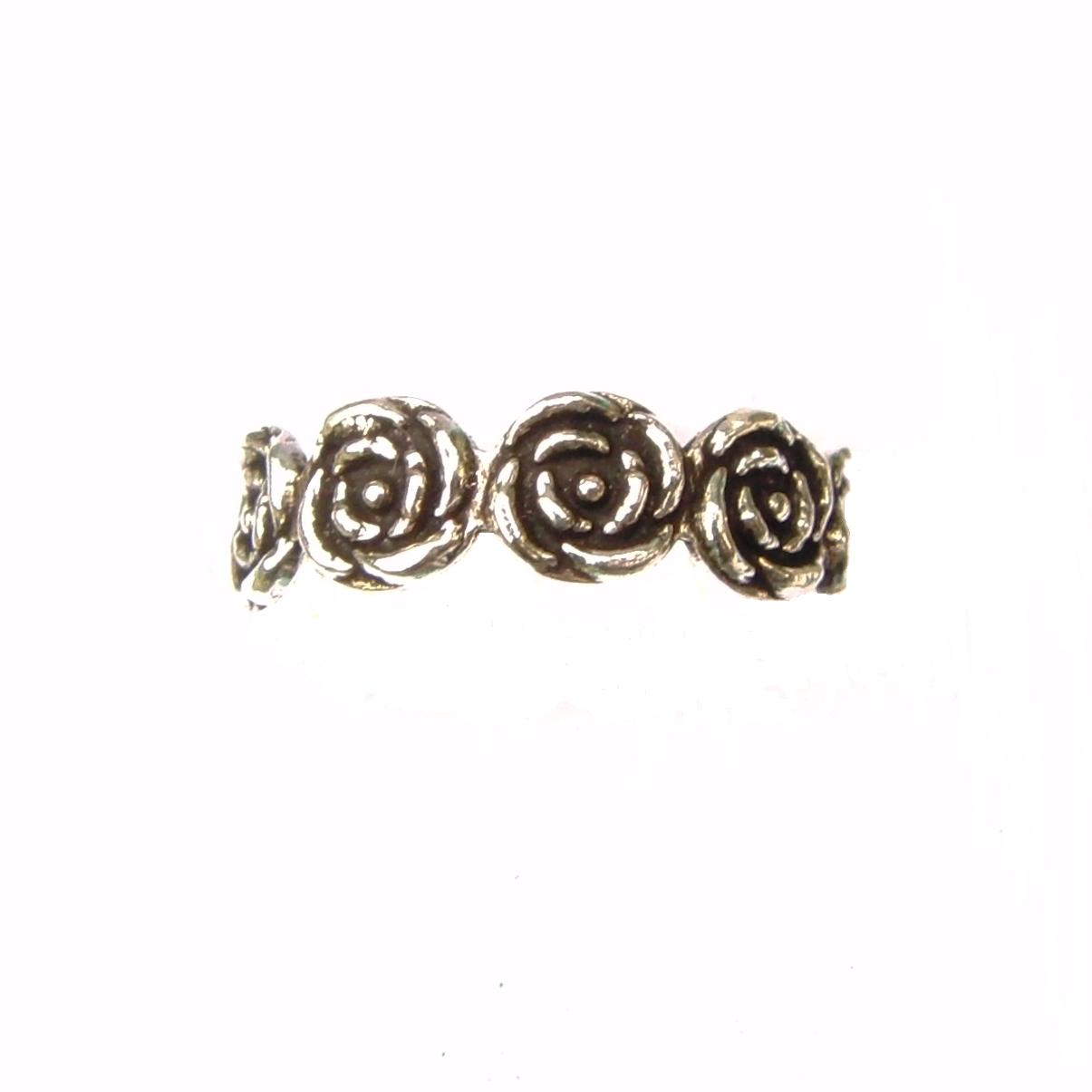 Beautiful Flower Toe Ring.