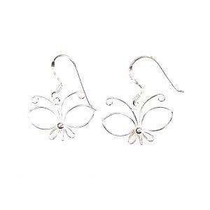 Beautiful Butterfly Earrings.