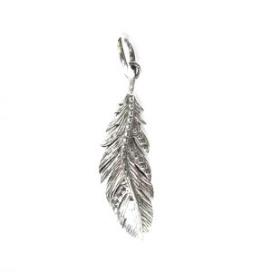 Beautiful Large Feather Pendant.