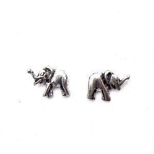 Beautiful Dainty Elephant Studs