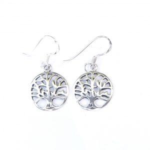 Dainty Tree of Life Earrings.