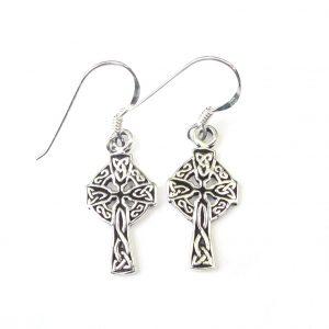 Lovely Celtic Cross Earrings