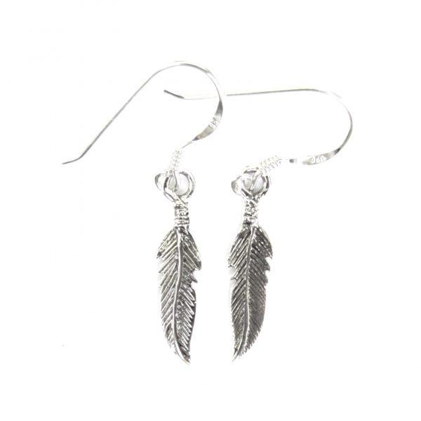 Pretty Dainty Feather Earrings