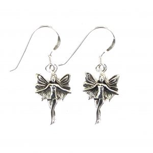 Pretty Silver Fairy Earrings.