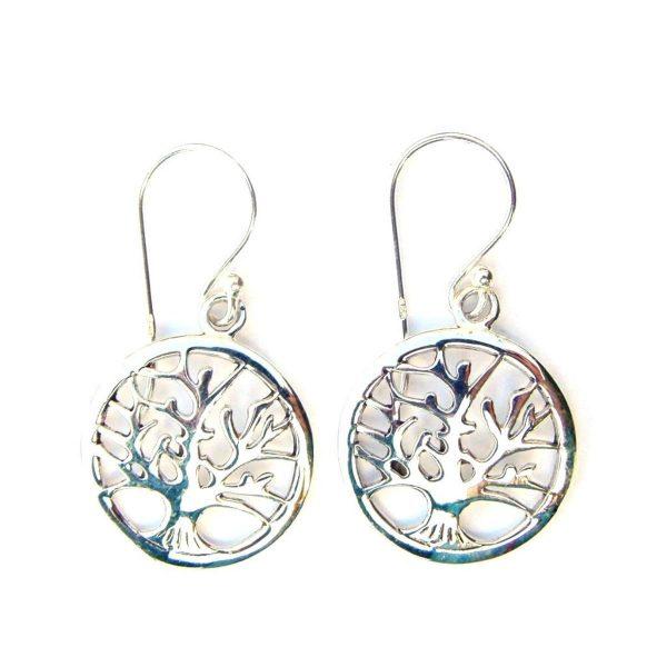 9852ebb34 Tree of Life Earrings - Silver Jewellery Cavern Wholesale