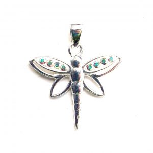 Beautiful AB Dragonfly Pendant.