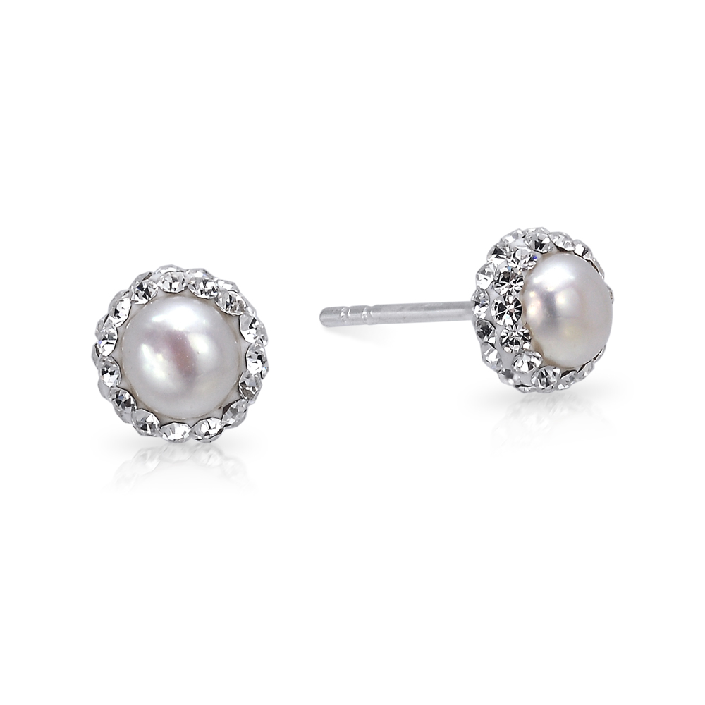Beautiful Fresh Water Pearl Studs.