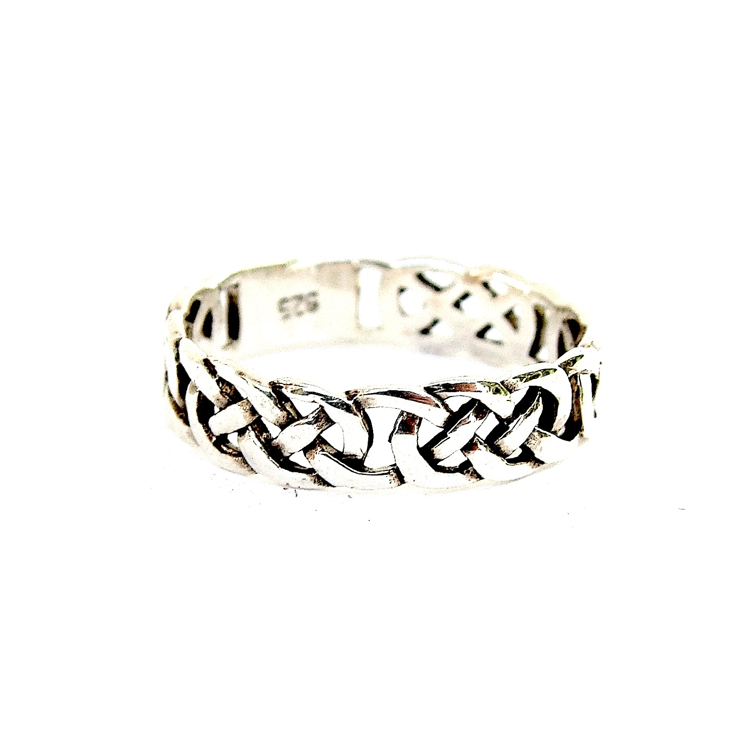 Beautiful Celtic Silver Ring