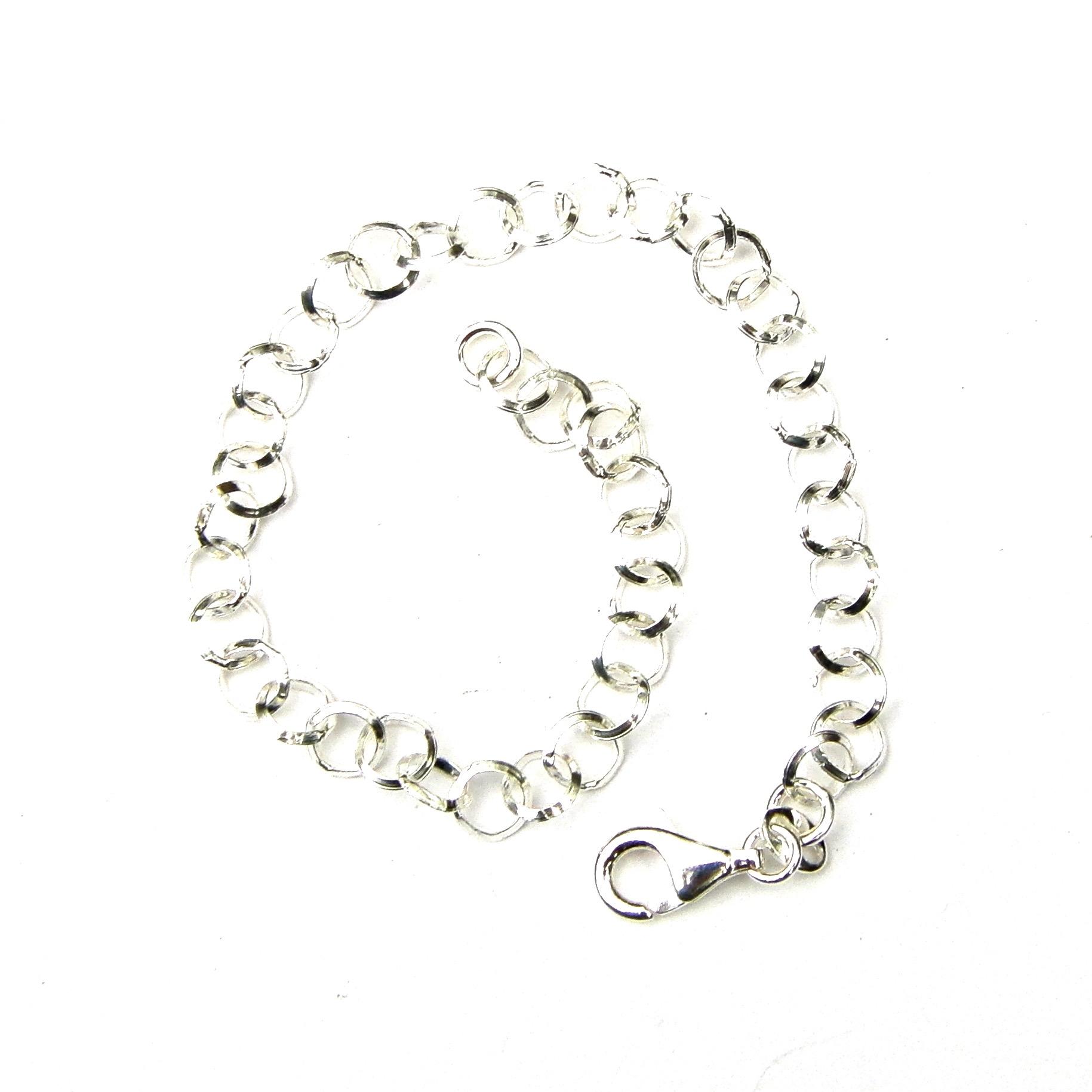 Beautiful Silver Charm Bracelet