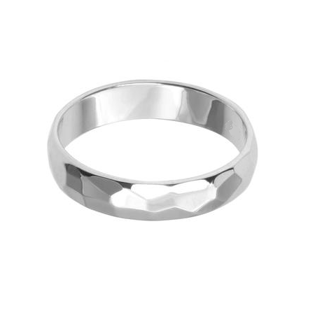 Beautiful Hammered Ring