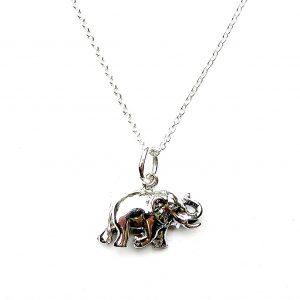 Lovely Dainty Elephant Necklace.