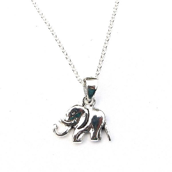Beautiful Dainty Elephant Necklace