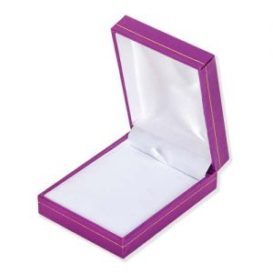 Pretty Purple Necklace Box