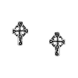 Beautiful Celtic Cross Studs